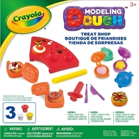 Crayola: Dough Activity Set - Treat Shop