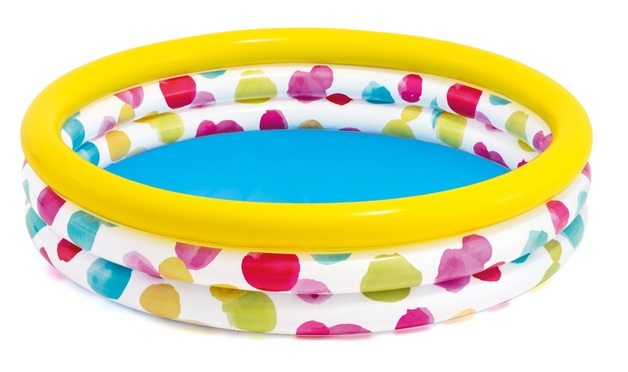 "Intex: Cool Dots - Kiddie Pool (66"" x 15"")"