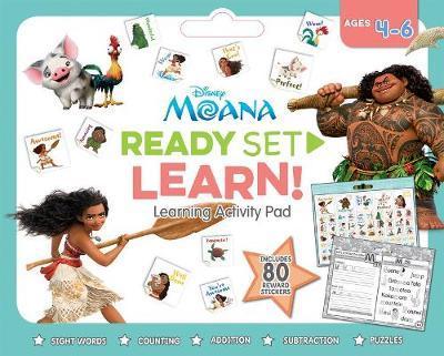Disney Moana: Ready Set Learn! Activity Pad (Ages 4-6)