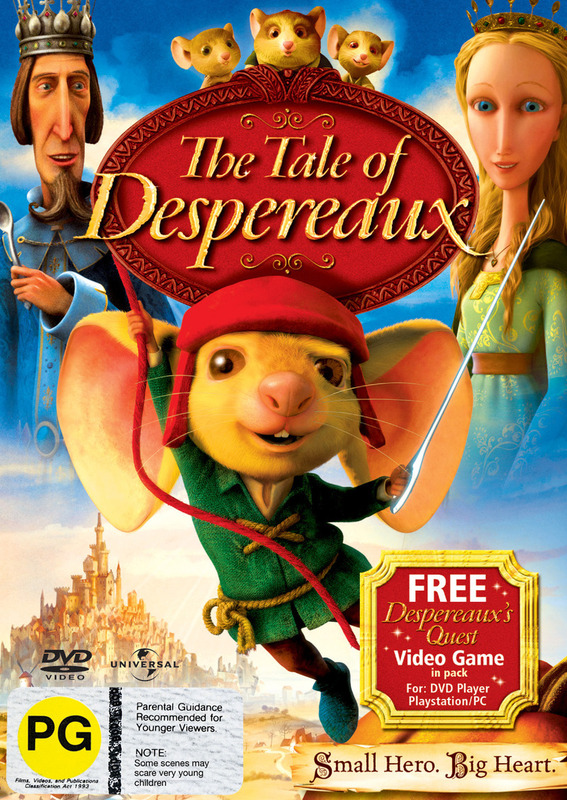 The Tale of Despereaux on DVD