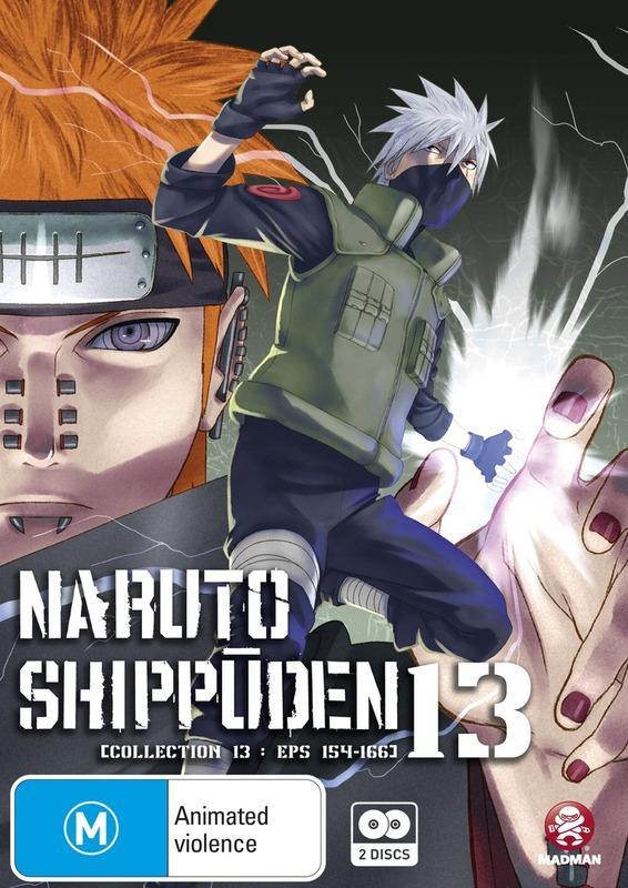 Naruto Shippuden Collection 13 on DVD