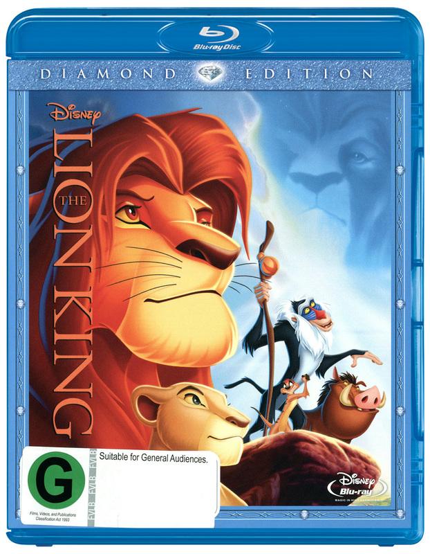 The Lion King - Diamond Edition on Blu-ray