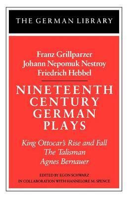 Nineteenth Century German Plays image