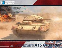 Rubicon 1/56 British Tank, Cruiser MkVI, A15 Crusader