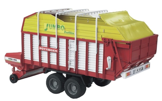 Bruder: Pottinger Forage Trailer