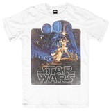 Star Wars Retro Poster T-Shirt (XX-Large)