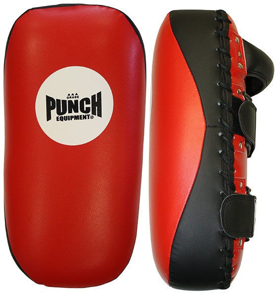 Punch: AAA Thai Pad - (Black/Red)