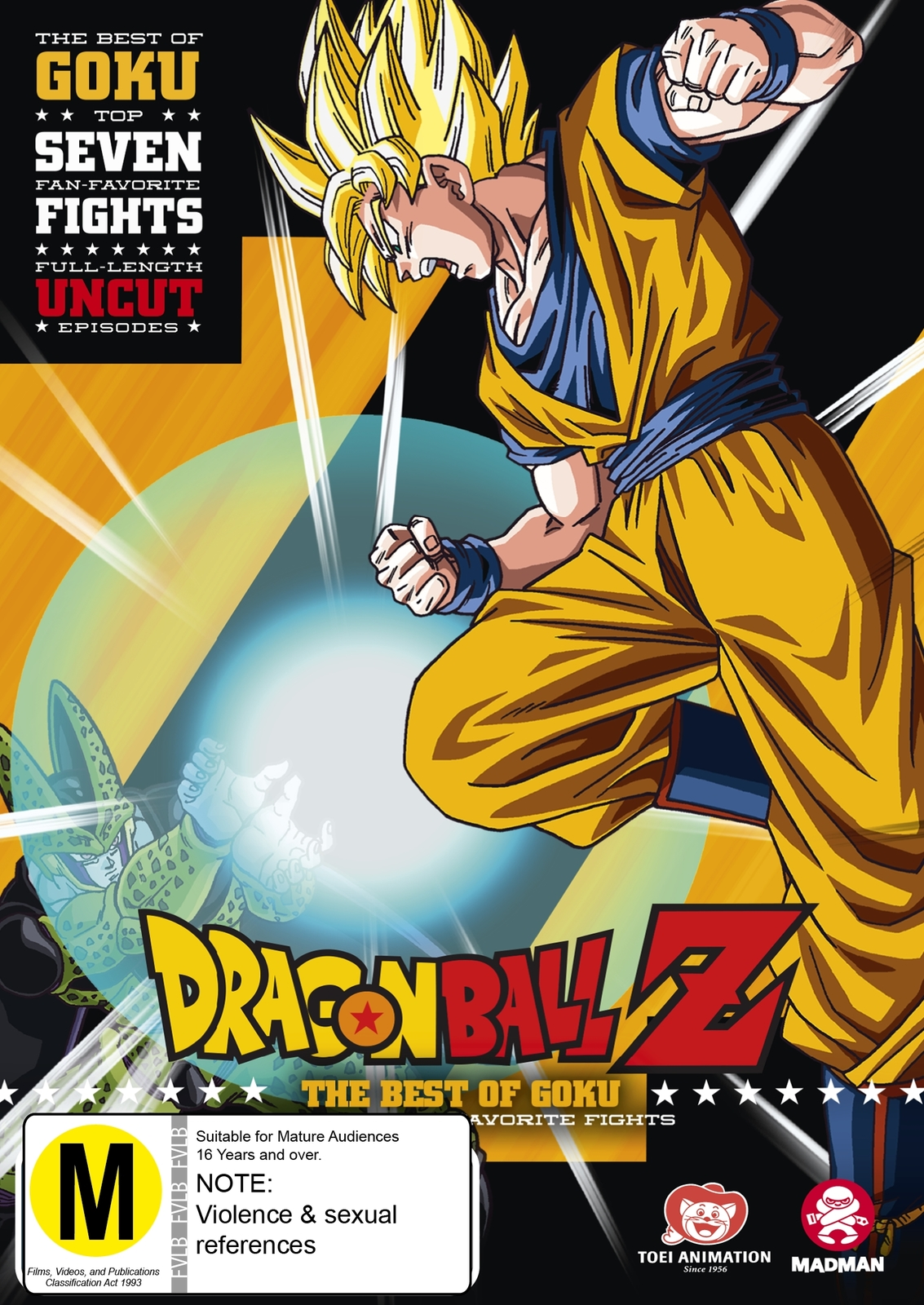 Dragon Ball Z: Best Of Goku on DVD image