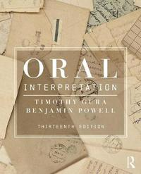 Oral Interpretation by Timothy Gura