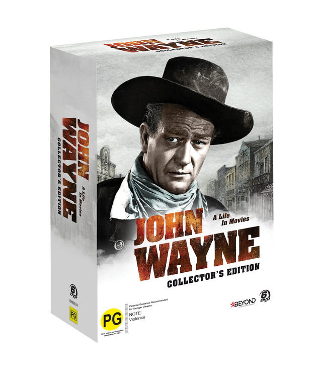 John Wayne Collector's Edition on DVD