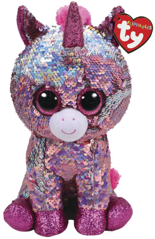 TY Beanie Boo - Flip Sparkle Unicorn  d6969a0ceaef