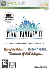 Final Fantasy XI (includes 3 expansion packs) for X360