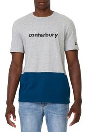 Canterbury: Colour Block Logo Tee - Classic Marle (S)