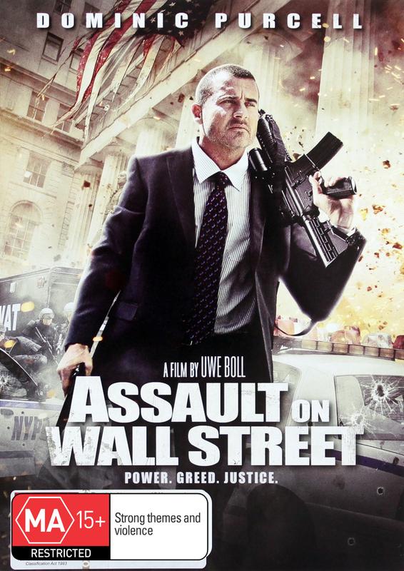 Assault on Wall Street on DVD