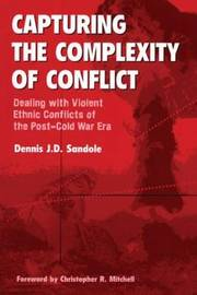 Capturing the Complexity of Conflict by Dennis J.D. Sandole image