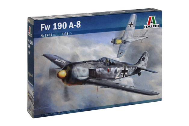 Italeri Focke-Wulf Fw 190 A-8 1:48 Scale Model Kit