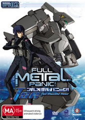 Full Metal Panic: The Second Raid - Vol 2 on DVD