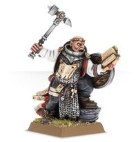 Warrior Priest with Hand Weapon and Shield