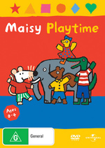 Maisy - Playtime on DVD