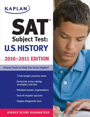 Kaplan SAT Subject Test: U.S. History: 2010-2011 by Kaplan image