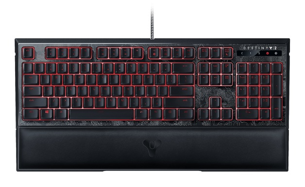 Destiny 2 Razer Ornata Chroma Gaming Keyboard for PC Games