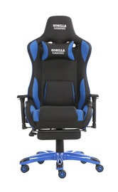 Gorilla Gaming Prime Ape Chair - Blue & Black for