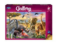 Holdson: 300pce Gallery Series 4 XL Puzzle (Savannah Waterhole)