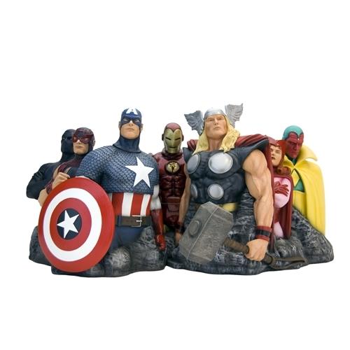 Marvel: Avengers Assemble (Alex Ross Ver.) - Fine Art Sculpture