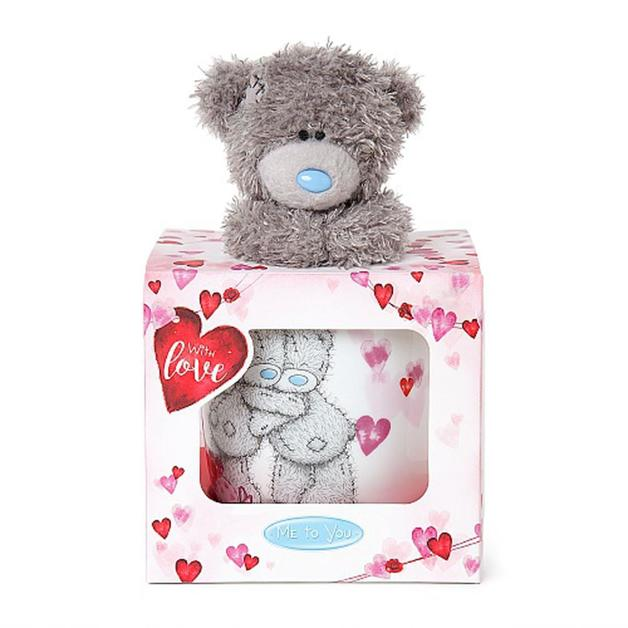 Me to You: With Love Bear Mug & Plush Gift Set