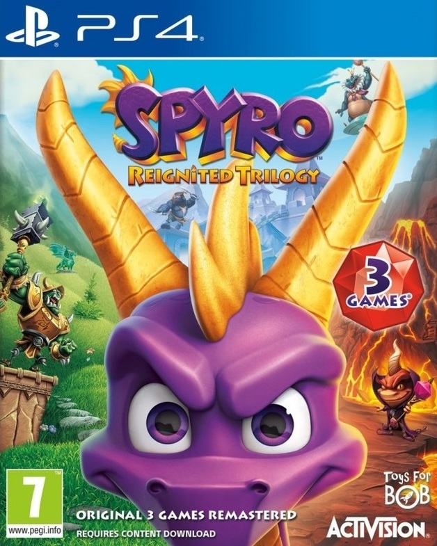 Spyro Reignited Trilogy for PS4