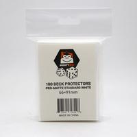 Mighty Ape Deck Protectors Pro-Matte Standard White (100)