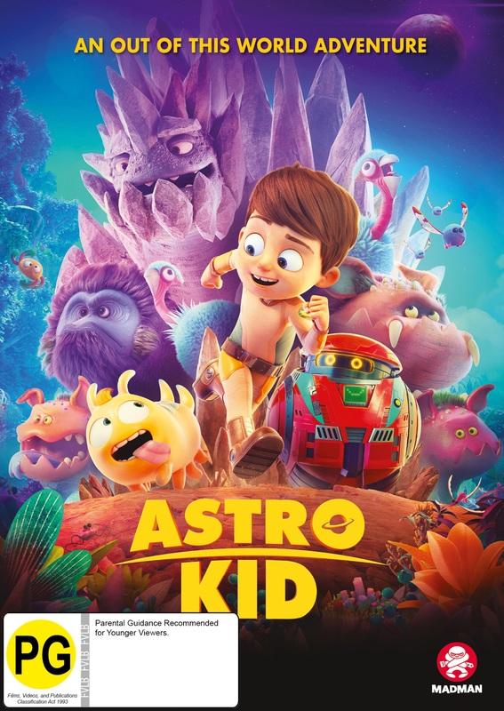 Astro Kid on DVD