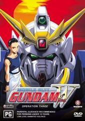 Gundam Wing Operation 4 on DVD