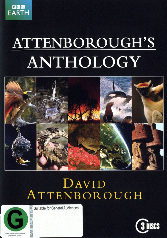 Attenborough's Anthology on DVD