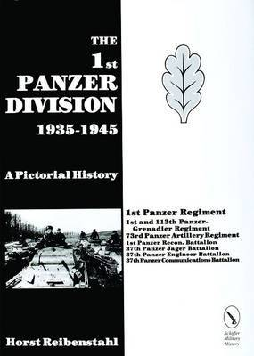 1st Panzer Division 1935-1945 by Horst Riebenstahl image