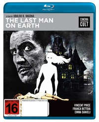 The Last Man On Earth on Blu-ray
