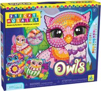 The Orb Factory: Sticky Mosaics - Owls