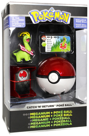Pokemon: Pokémon Catch 'n Return - Meganium Poké Ball