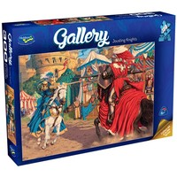 Holdson: 300pce Gallery Series XL Puzzle (Jousting Knights)