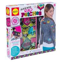 Alex: Iron & Wear - Rad Patches Kit