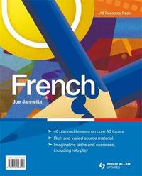 A2 French: Teacher Resource Pack by A. G. Jannetta image