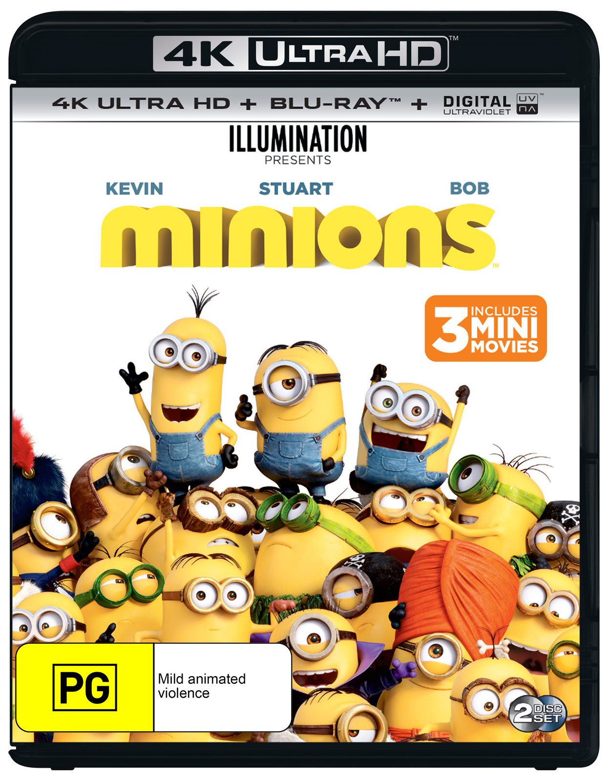 Minions on UHD Blu-ray image