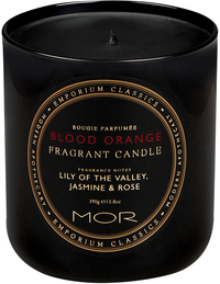 MOR Emporium Classics: Fragrant Soy Candle - Blood Orange (390g)