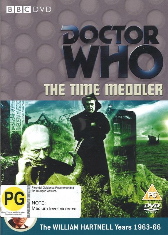 Doctor Who: The Time Meddler on DVD
